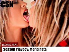 Mendigata nua em sessão de fotos para Playboy