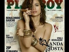 Nanda Costa nua na revista Playboy